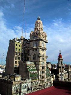 Cúpulas y Arquitectura de Buenos Aires - av de mayo y san jose- palacio barolo...argentina