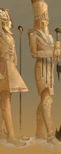 Tomb Kings by Ted Beargeon, via Behance