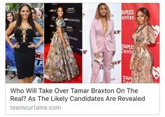 Its a couple months on since we all learned the news that #TamarBraxton was fired from #TheReal daytime talk show and the shortlist of #Tamars possible replacement has been released.  It has been reported that Spice Girl #MelB 'Rain On Me' singer #Ashanti 'Who's That Girl' rapper #Eve and 'So Gone' performer #Monica are all in the running for the Love and War singers spot at the round table. It cant go unnoticed that these women all happen to be in the music industry or some of them were at…