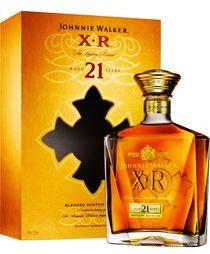Johnnie Walker X.R. 21 years 75cl Bottle No. JW AR 1609 XR