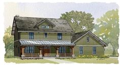 Houseplan 1637-00075. Move garage and powder room door to foyer not mud room.