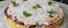 Linecký koláč s ovocem a sněhem Nutella, Tiramisu, Camembert Cheese, Cheesecake, Pie, Ethnic Recipes, Blog, Basket, Author