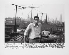 Allan Ginsberg, 1953, photograph by William Burroughs