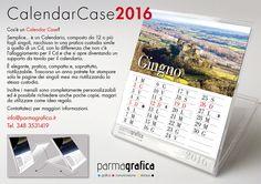 Un'altra novità! Il CALENDAR CASE! Completamente personalizzabile con le vostre foto e, come tutti i calendari, è possibile riprodurne anche poche copie!