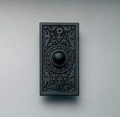 Restoration Hardware Embossed Doorbell, $10