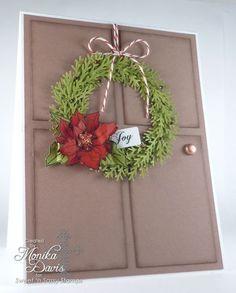 SNS-December Poinsettia Wreath