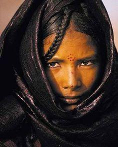 Tuareg woman
