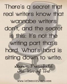 So much truth! The words flow so easily, it's just taking the time out to allow them to flow that's the hard part. Writing Memes, Book Writing Tips, Writing Strategies, Writing Prompts, Writing Desk, Quotes About Writing, Writing Jobs, Start Writing, Writer Quotes