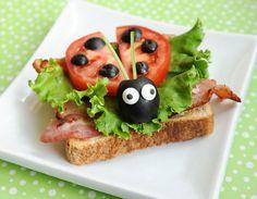10 lanches criativos para crianças com frutas e legumes - Amando Cozinhar - Receitas, dicas de culinária, decoração e muito mais!