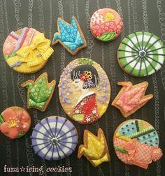 アイシングクッキーでプレゼント上手☆ ……になりたい!!(*´∀`)~funa*~