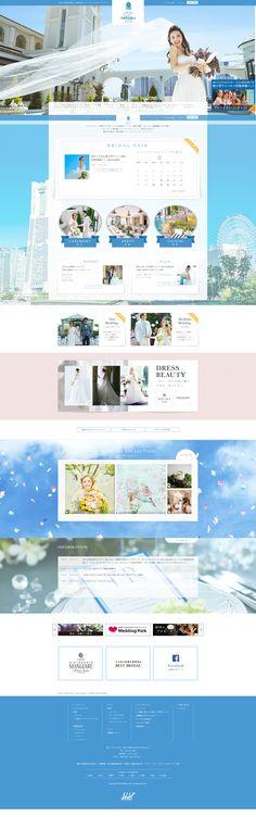 Web Design, Site Design, Layout Design, Web Inspiration, Yokohama, Bridal, Wedding, Travel, Design Web