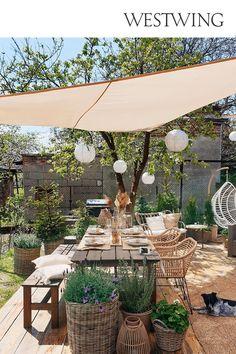 Backyard Patio Designs, Backyard Projects, Backyard Landscaping, Outdoor Rooms, Outdoor Gardens, Outdoor Living, Outdoor Decor, Garden Design, House