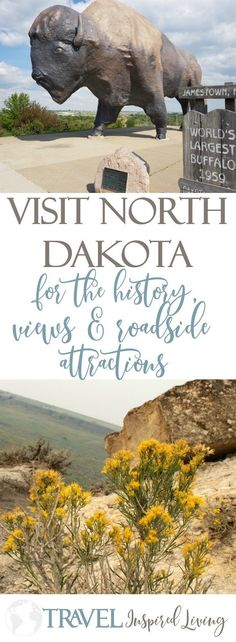 Visit North Dakota for the history, views and roadside attractions. Visit North Dakota for the history, views and roadside attractions. Family Road Trips, Road Trip Usa, Family Travel, Family Vacations, Travel Usa, Travel Tips, Travel Hacks, Travel Goals, Spain Travel