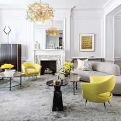 According to interior expert Lorna McAller these are the 5 color trends to use to create a happier ambiance!
