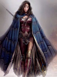 Wonder Woman - Batman v. Superman: Dawn of Justice. //I still don't like her but I like this.