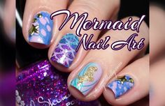 Mermaid Nails! | Spo