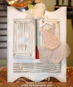 - Stampin Up card using Dress Up framelits