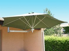Shop this luxury umbrellas paraflex wallflex 9 foot push lift tilt wall mount umbrella from our top selling Luxury Umbrellas umbrellas & shades. PatioLiving is your premier online showroom for patio umbrellas and high-end outdoor furniture. Offset Patio Umbrella, Outdoor Umbrella, Patio Umbrellas, Cantilever Patio Umbrella, Deck Shade, Table Umbrella, Umbrella Holder, Patio Wall, Gardens