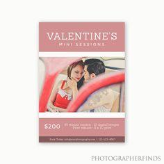 Valentine's Mini Session Template