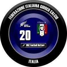DNZ Football Buttons: Seleção da Itália