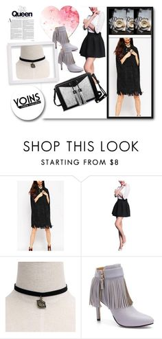 """""""Yoins 8"""" by april-lover ❤ liked on Polyvore featuring White Label, Carianne Moore, women's clothing, women's fashion, women, female, woman, misses, juniors and yoins"""