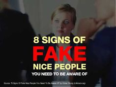 8 signs of fake & nice people you must be aware of. Fake People Quotes, 8th Sign, Motivational Videos, Good People, Singing, Positivity, Wisdom, My Love, Words