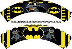 Batman wrappers-cupcake