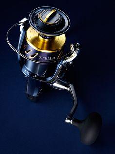 Mood photograph of a Shimano Stella XT fishing Reel
