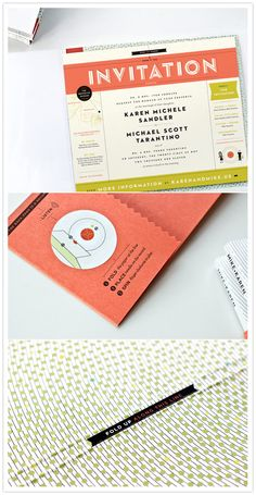 A record player invitation that actually plays the record! The perfect choice for this musical couple. Faire Part Invitation, Invitation Paper, Invitation Design, Party Invitations, Invite, Michael Scott, Kelli Anderson, Branding, Wedding Prints