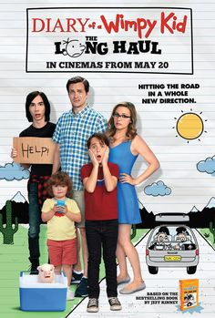 Diary of a Wimpy Kid The Long Haul.  Good and fun.  Interesting to see Alica Silverstone as a mom.  It was better than the book.