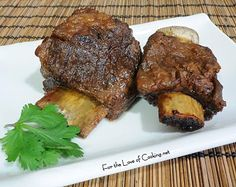 For the Love of Cooking » Asian Inspired Braised Beef Short Ribs