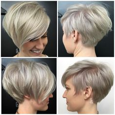 Today we have the most stylish 86 Cute Short Pixie Haircuts. We claim that you have never seen such elegant and eye-catching short hairstyles before. Pixie haircut, of course, offers a lot of options for the hair of the ladies'… Continue Reading → Cool Short Hairstyles, Haircuts For Fine Hair, Short Stacked Bob Haircuts, Long Pixie Hairstyles, Long Haircuts, Hairstyles 2018, Winter Hairstyles, Formal Hairstyles, Pinterest Haircuts