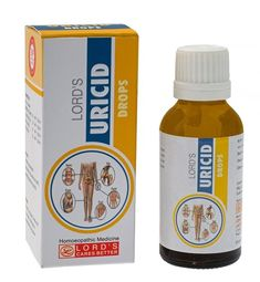 LORD'S URICID DROPS tones up the kidney functioning which ensures the excessive Uric Acid is expelled and further accumulation is prevented. Metabolic Acidosis, Diuretic, Uric Acid, Homeopathic Medicine, Gout, Hypothyroidism, Tone It Up, Homeopathy, Drugs