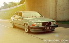 "Swedish Metal — Berli Astre's clean and classy Volvo 960 on 19"" AC..."
