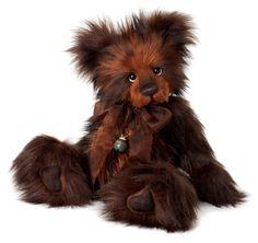 Charlie Bear Chestnut Teddy Bear Cottage - Collectable Charlie Bears
