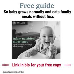 Get your FREE infant nutrition milestone guide so you know what to expect. Use this step-by-step guide to plan a feeding strategy for your baby. I Am Worried, Mom Group, Nutrition Guide, Baby Grows, New Parents, Baby Feeding, 1 Year, Family Meals, No Worries