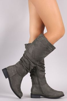 Slouchy Suede Riding Knee High  #boots #winter #cute #fashion #cozy #deal #comfy