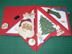 Christmas Tree Cards, Holiday Cards, Christmas Cards, Tarjetas Stampin Up, Stampin Up Cards, Fancy Fold Cards, Folded Cards, Fabric Cards, Interactive Cards