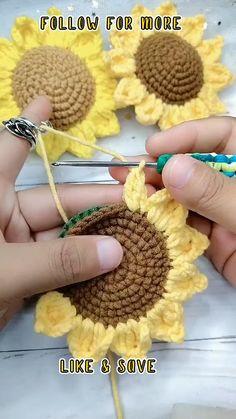 Easy Crochet Stitches, Crochet Square Patterns, Crochet Blanket Patterns, Crochet Motif, Quick Crochet, Afghan Crochet, Crochet Blankets, Simple Crochet, Crochet Flower Tutorial