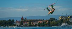 Wakeboard on Lac Leman