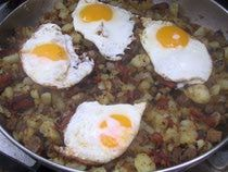 Pytt i Panna, Swedish Hash, is a delicious way to use up leftovers.