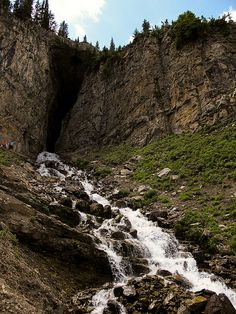 Darby Wind Cave, Teton Idaho.  Very long hike, very worth it.