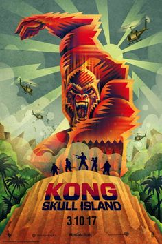 Harry says KONG: SKULL ISLAND is Like my entire seventies Kong obsessed playground imagination ALIVE