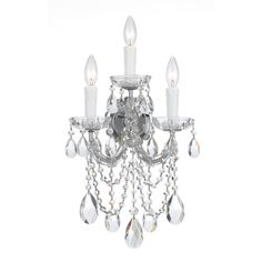 Found it at Wayfair - Maria Theresa 3 Light Wall Sconce