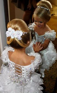 national Glitzy beauty Pageant dresses, Custom made