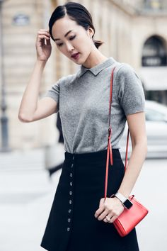 How to Wear 4 Textures in One Outfit - The Chriselle Factor