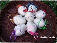 , Easter, Christmas Ornaments, Holiday Decor, Crafts, Home Decor, Xmas Ornaments, Manualidades, Decoration Home, Christmas Jewelry