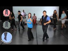 Salsa Dancing Walk-Through - 36 Movements - YouTube