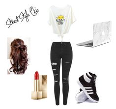 Untitled #3 by nana-yaa-1 on Polyvore featuring polyvore, fashion, style, Topshop, adidas and Burberry