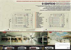 _______________________________________________________________________ Menção Honrosa – Mercado Público – Blumenau – SC Autores: Vitor de Luca Zanatta, Marcelo André Carraro e André Celestino Forn…